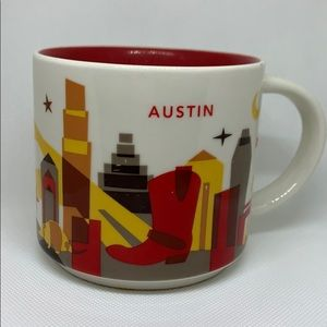 Austin You Are Here Starbucks Collection